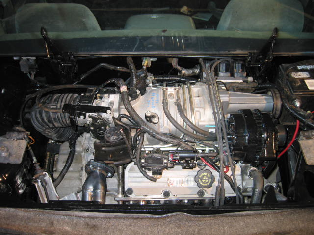 3800 supercharged engine installed in your v6 fiero