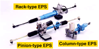 Type Of Eps Electric Steering