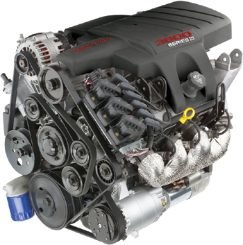 Series Engine on 3800 Supercharged Crate Engine